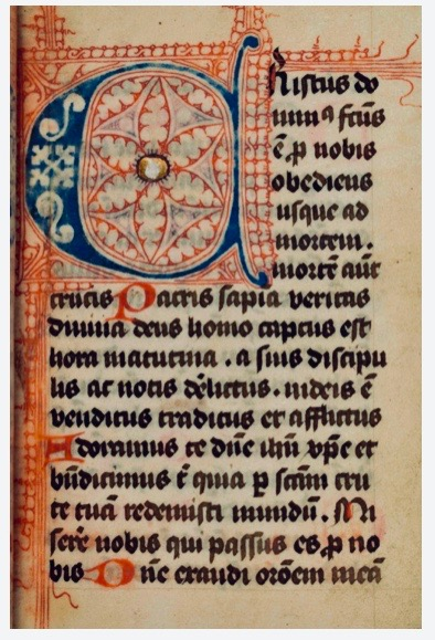Image 1 of 11 for [Book of hours [manuscript] : use of Sarum]. LITURGY.
