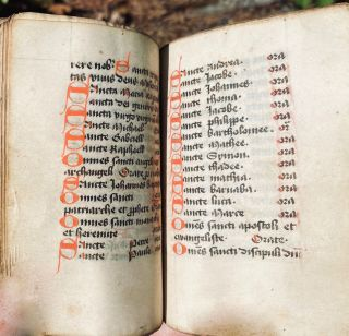Image 11 of 11 for [Book of hours [manuscript] : use of Sarum]
