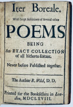 Iter Boreale, with large additions of several other poems, begin an exact colection of all...