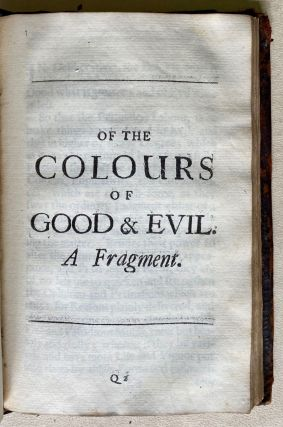 The essays or counsels, civil and moral, of Sir Francis Bacon, Lord Verulam, Viscount St Alban. With a table of the colours of good & evil. Whereunto is added the wisdom of the antients. Enlarged by the honourable author himself; and now more exactly published.
